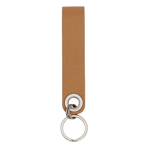 Leder Schlüsselanhänger mit Logoprägung - Basic Keyring