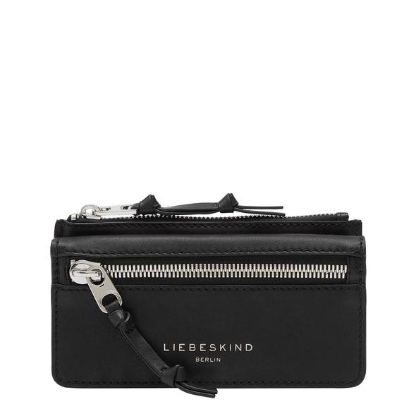 Geldbeutel aus Leder mit breitem Reißverschluss - Brooke Layla
