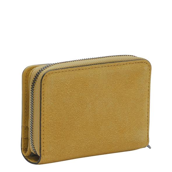 Portemonnaie aus Wildleder im praktischen Format - Ella Alexis