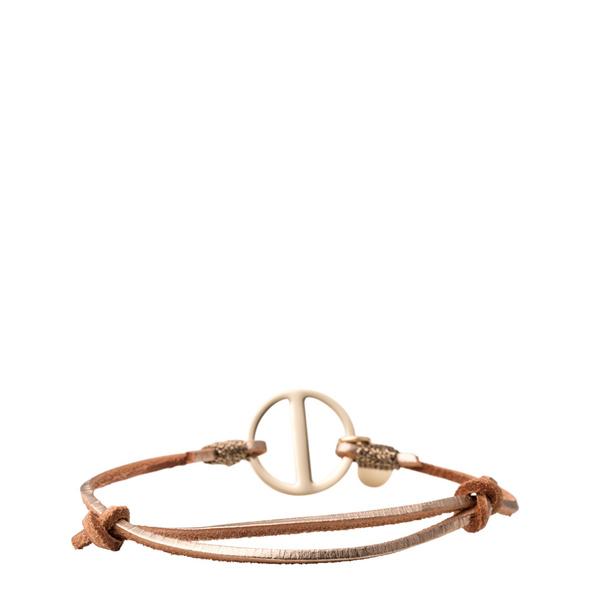 Armband mit Signatur-Metallring - Armband