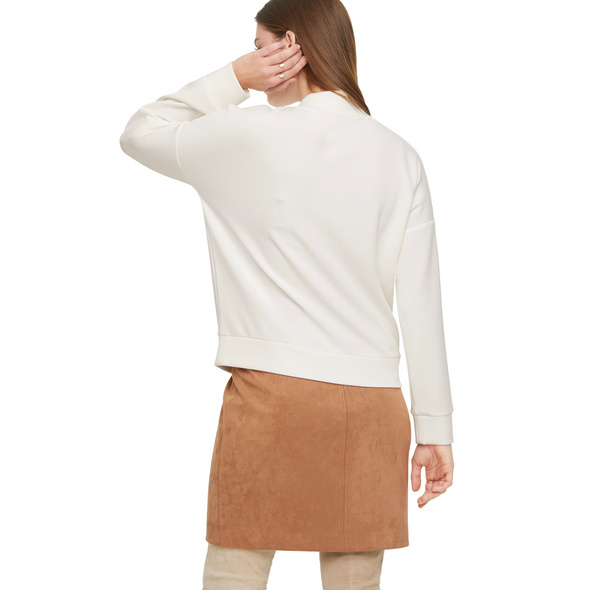 High Neck-Shirt im Scuba-Style - Sweatshirt