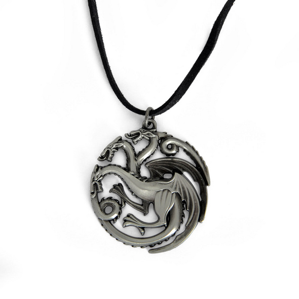 Game of Thrones - Targaryen Wappen Drachen Kette