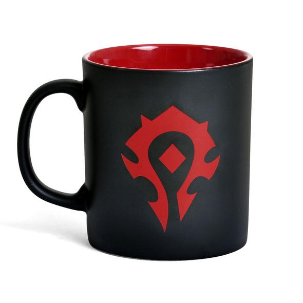 Warcraft - Horde Logo Tasse schwarz rot