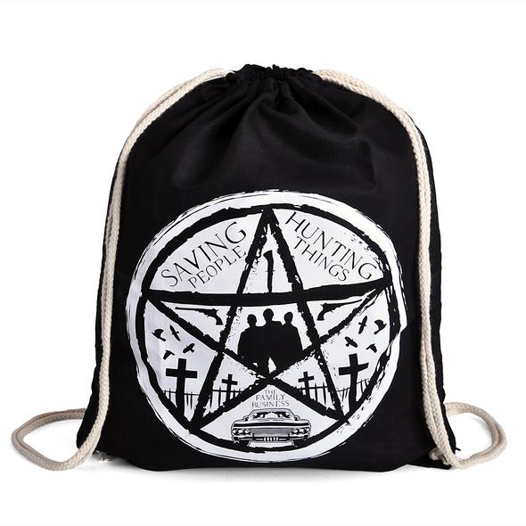 Supernatural - Pentagramm Sportbag schwarz