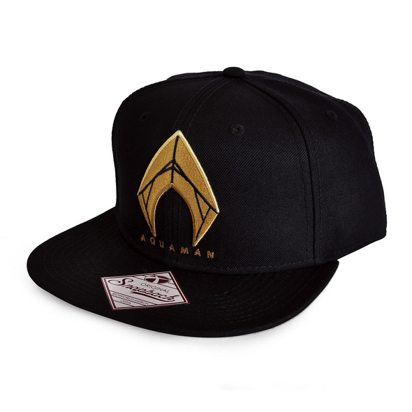 Aquaman Logo Snapback Cap - Justice League