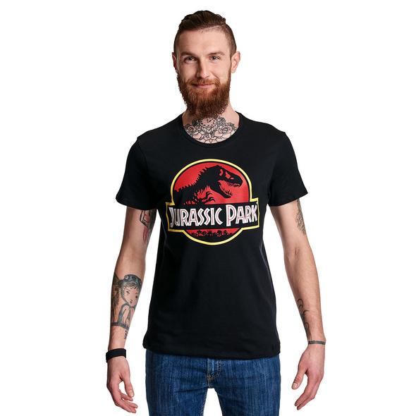 Jurassic Park - Logo T-Shirt schwarz