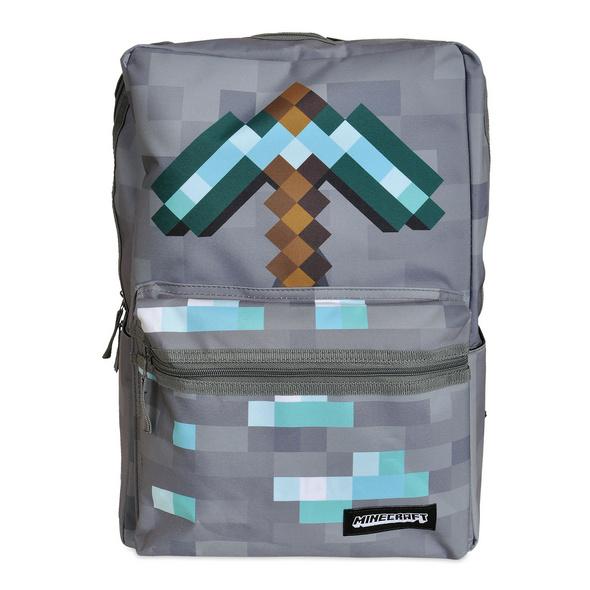 Minecraft - Pickaxe Rucksack grau