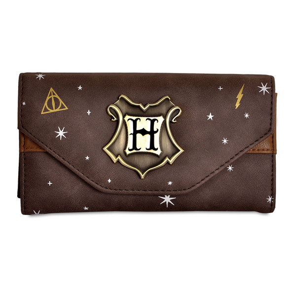 Harry Potter - Hogwarts Metall Wappen Geldbörse