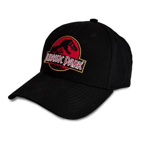 Jurassic Park - Movie Logo Basecap schwarz