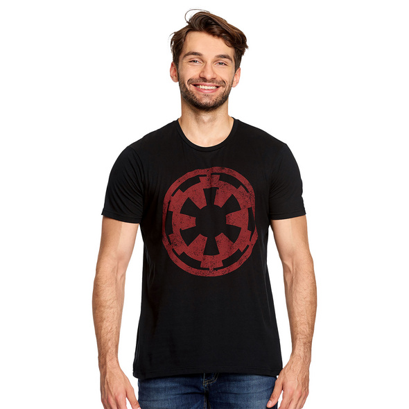 Star Wars - Galactic Empire Logo T-Shirt schwarz