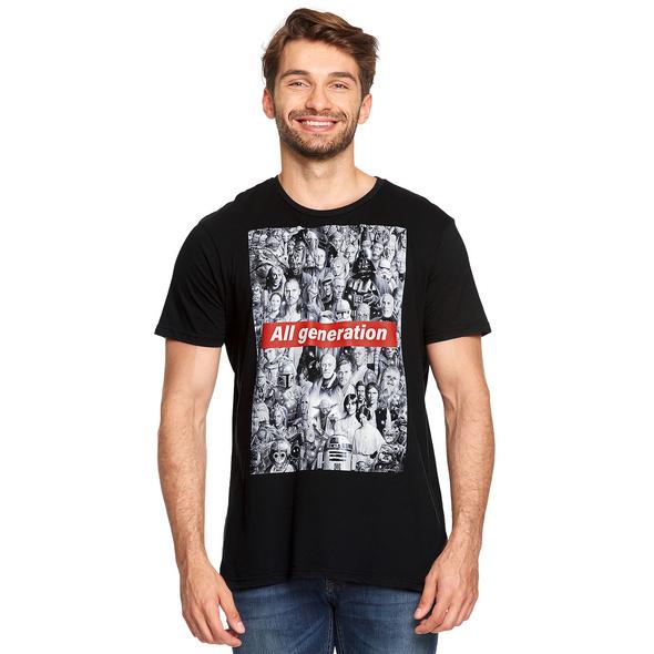 Star Wars - All Generation T-Shirt schwarz