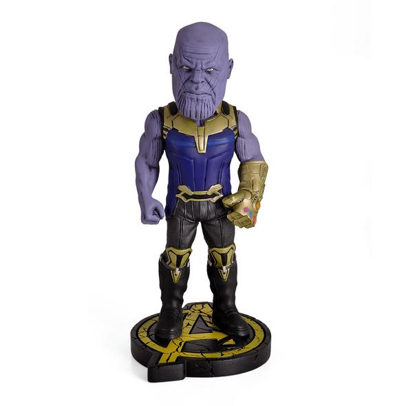 Avengers - Thanos Head Knockers Wackelkopf-Figur Deluxe