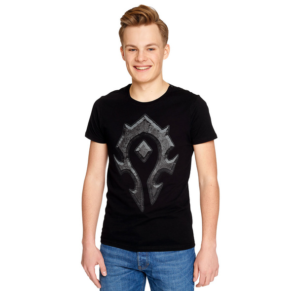 World of Warcraft - Horde Logo T-Shirt schwarz