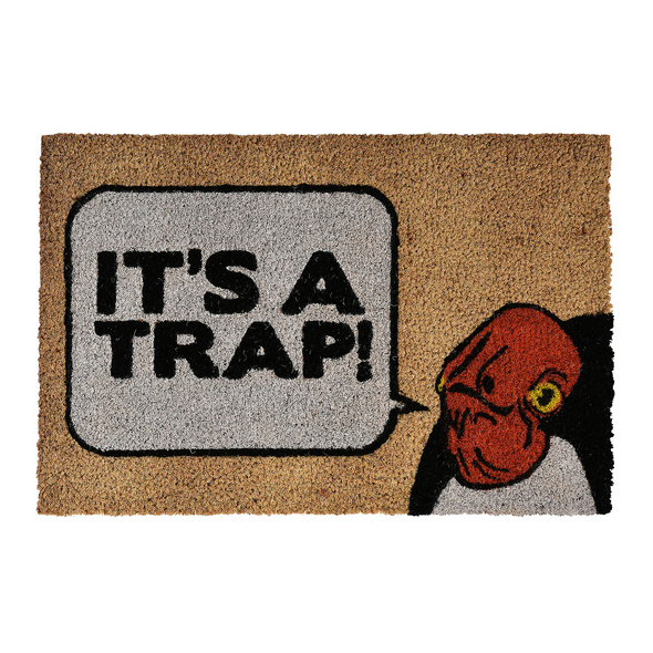 Star Wars - Admiral Ackbar Its a Trap Fußmatte