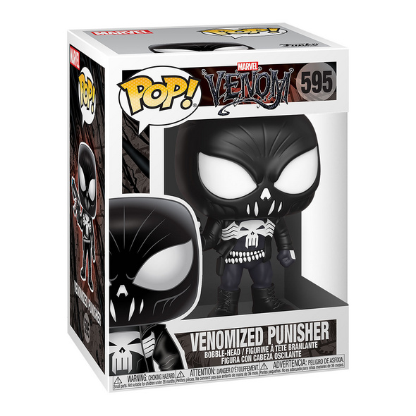 Marvel - Venomized Punisher Funko Pop Wackelkopf-Figur