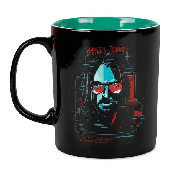 Cyberpunk 2077 - Digital Ghost Tasse