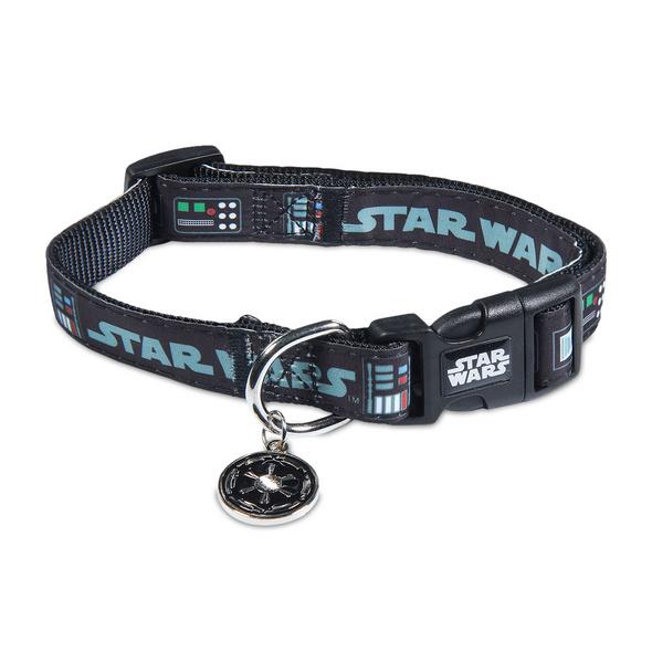 Star Wars - Darth Vader Klick-Halsband für Hunde schwarz
