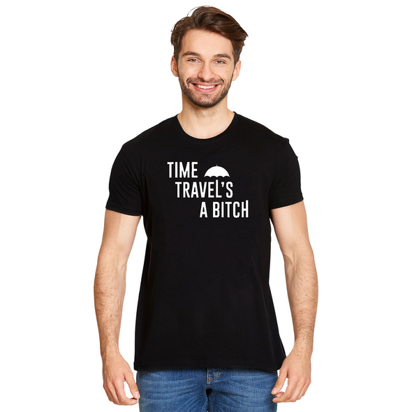 Time Travels a Bitch T-Shirt für The Umbrella Academy Fans