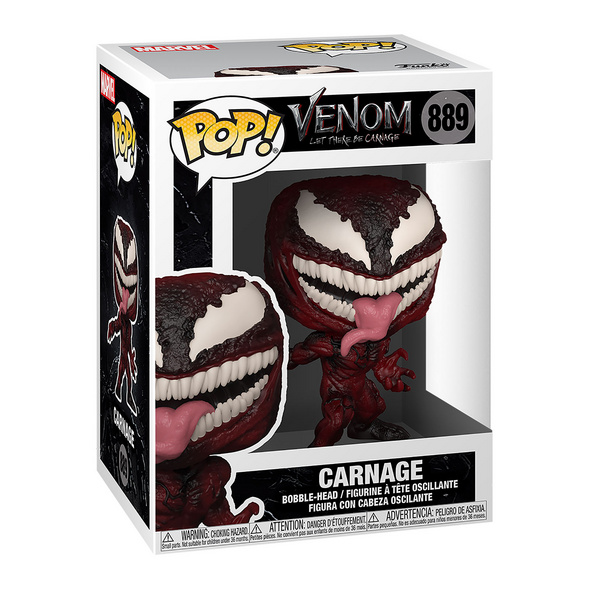 Marvel - Carnage Funko Pop Wackelkopf-Figur