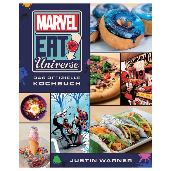 Marvel Eat the Universe - Das offizielle Kochbuch