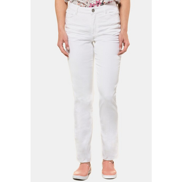 Gina Laura Jeans Thea, sanfte Waschung, 5-Pocket-Form