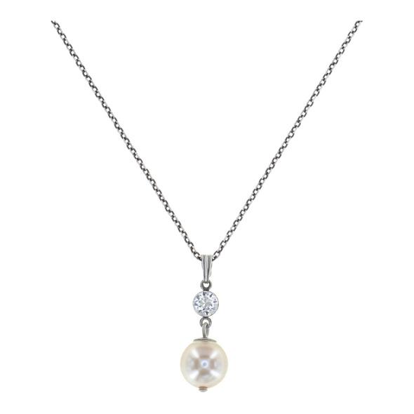Halskette mit Anhänger, Pearl Shadow
