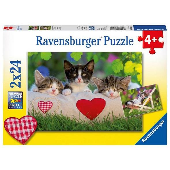 Ravensburger Verschlafene Kätzchen,