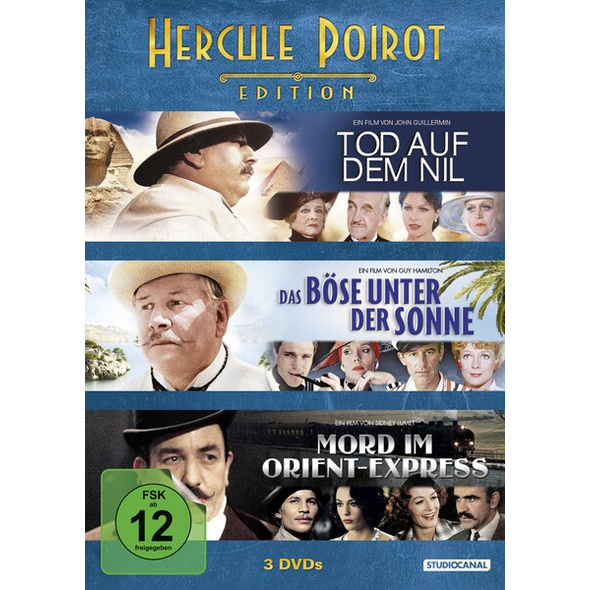 Hercule Poirot Edition  [3 DVDs]