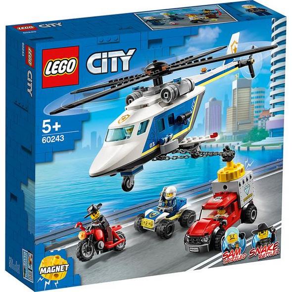 60243 LEGO® CITY Verfolgungsjagd mit dem Polizeihubschrauber