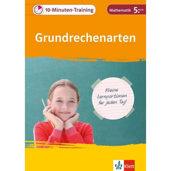 Klett 10-Minuten-Training Grundrechenarten