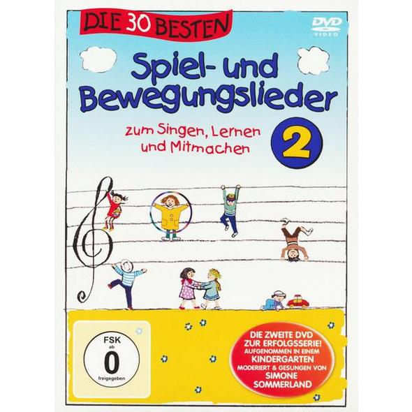 Die 30 besten Spiel- und Bewegungslieder 2 - Die DVD