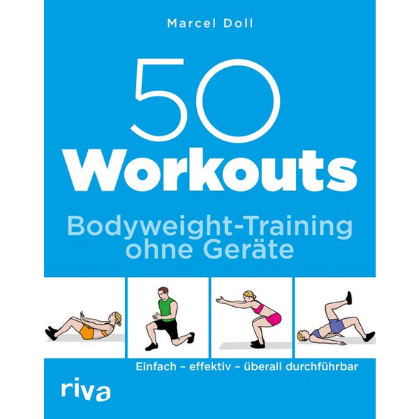 50 Workouts – Bodyweight-Training ohne Geräte