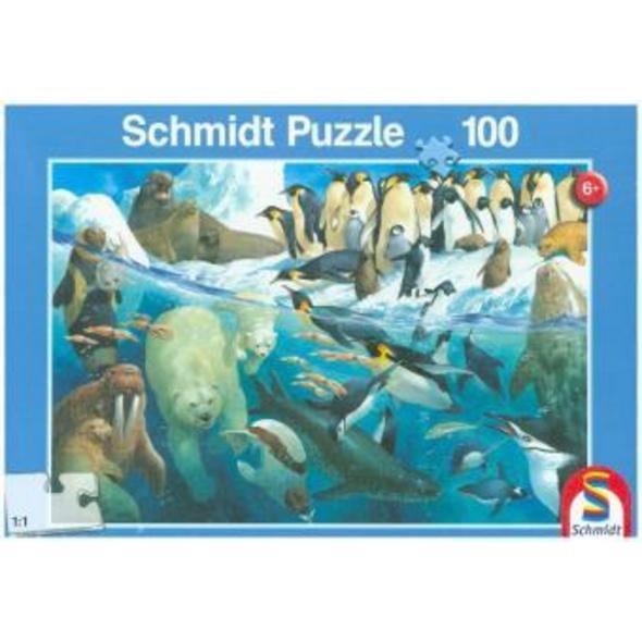 Tiere am Polarkreis (Kinderpuzzle)
