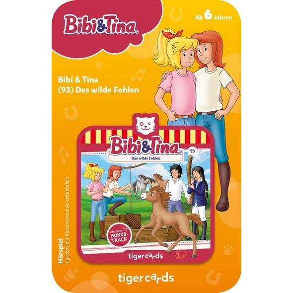 Tigercard - Bibi & Tina - Das wilde Fohlen