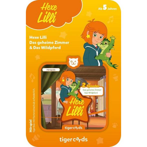 Tigercard - Hexe Lilli: Das geheime Zimmer & Das Wildpferd