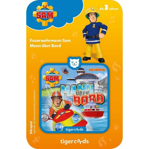 Tigercard - Feuerwehrmann Sam - Mann über Bord