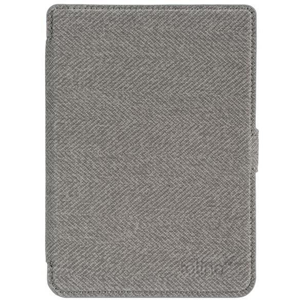 tolino page 2 - Tasche Slim - grau/rot