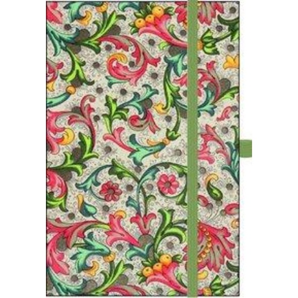 Premium Notes Small Textile 'Vintage Flowers'