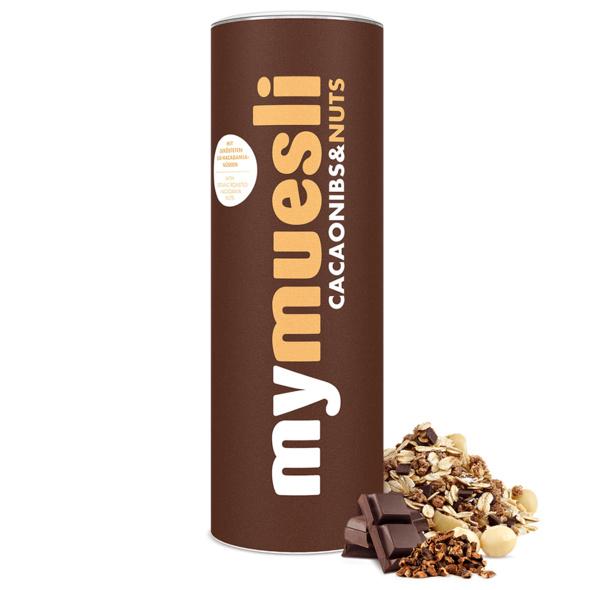 Cacaonibs & Nuts Müsli