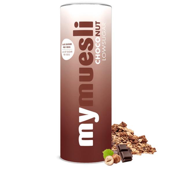 Low Sugar Choco-Nut-Müsli