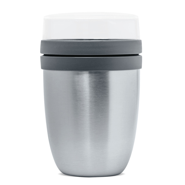 Thermo 2Go Becher silber
