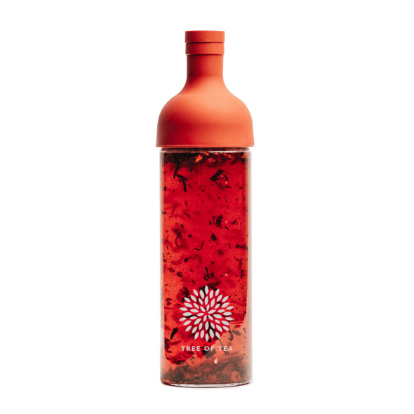 Tree of Tea Eistee-Flasche rot