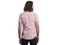 Kurzarmhemd mit modischem Streifen-Druck