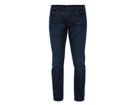 Regular Fit: Tapered leg-Jeans - Stretchjeans