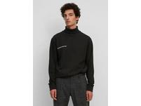 Rollkragen-Sweatshirt