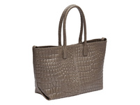 Shopper Tasche mit Krokoprägung - Chelsea Shopper M
