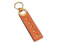 Schlüsselanhänger mit Logo-Prägung und Nieten - Farrah Studs Keyring