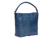 mittelgroße Tasche in Kroko-Optik - Annie Hobo M