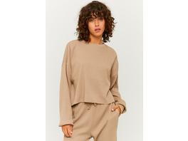 Kurzes Oversize Sweatshirt