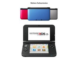 Nintendo 3DS XL Konsole silber + schwarz